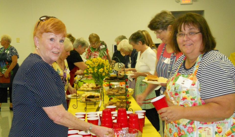 Jessamine County Homemakers annual meeting